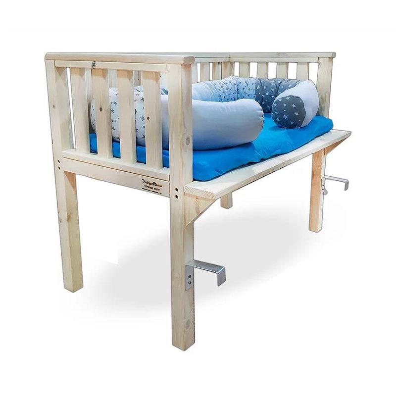 עריסה מתחברת למיטה דגם שלבי