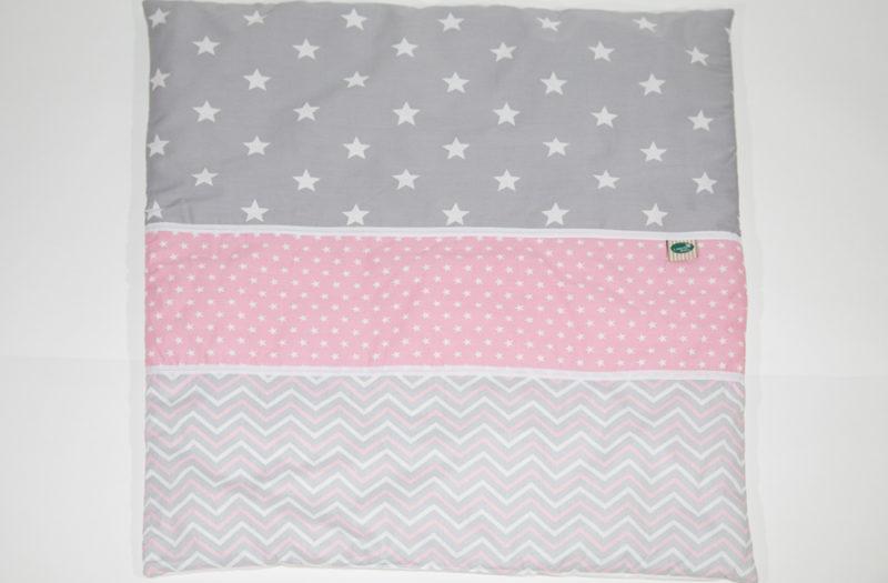 שמיכה למיטת תינוק - ורוד