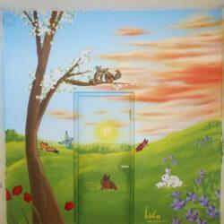 ציור קיר לחדר ילדים