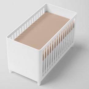 סדין אפרסק למיטת תינוק