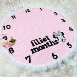"""שמיכת חודשים דגם """"Pink Mini"""""""